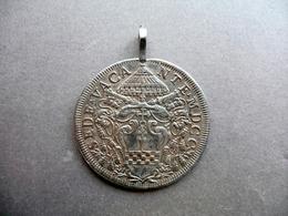 Medaglia Argento Sede Vacante Non Vos Relinquam Orphanos Giubileo 1700 - Tokens & Medals