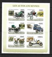 UNION DES COMORES 2008 AUTOS ANCIENNES YVERT N°1279/84 NON DENTELES  NEUF MNH** - Voitures
