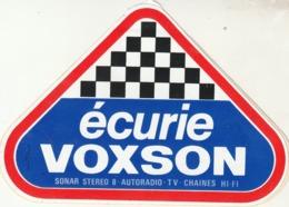Rare Autocollant écurie Voxson - Stickers