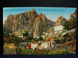 (FP.NV10) GRIMALDI VENTIMIGLIA - PONTE SAN LUIGI, FRONTIERA ITALO FRANCESE, DOGANA (IMPERIA) - Imperia