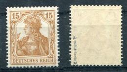 D. Reich Michel-Nr. 100a Postfrisch - Geprüft - Deutschland