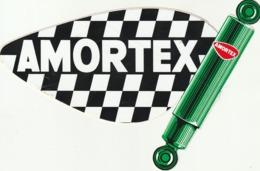 Rare Autocollant Amortisseurs Amortex - Stickers