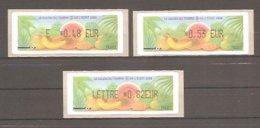LISA 1 Type AJ - Salon Du Timbre Et De L'Ecrit - PARIS 2006. Valeurs EUR.: 0,48 / 0,53 / 0,82. Neuves. - 1999-2009 Vignette Illustrate