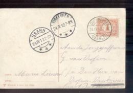 Baarn 4 Langebalk Vinkenveen Ouderkerk A D Amstel - 1912 - Marcofilia