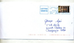 Lettre Machine Guipavas Sur Saline Curiosité - Poststempel (Briefe)