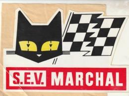Rare Autocollant SEV Marchal - Stickers