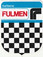 Rare Autocollant Batterie Fulmen - Stickers