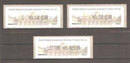 LISA 1 Type AK - 79e CONGRES De La FFAP. PARIS 2006. Valeurs EUR.: 0,48 / 0,53 / 0,82. Neuves. - 1999-2009 Vignette Illustrate