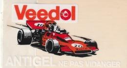 Rare Autocollant Veedol Antigel - Stickers