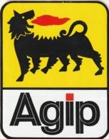 Rare Autocollant AGIP - Stickers