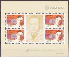 Portugal  1983 Yvertn° Bloc 41 *** MNH Cote 12,00 Euro Europa Cept - Blocs-feuillets