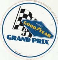 Rare Autocollant Pneus Good Year Grand Prix - Stickers