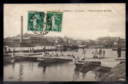 ARRAS 62 - Le Canal - Manoeuvres De Pontage - A676 - Arras
