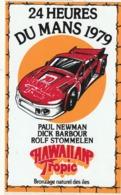 Rare Autocollant 24 Heures Du Mans 1979 Team Hawaiian Tropic Paul Newman - Aufkleber