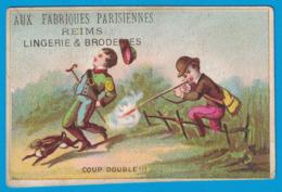IMAGE AUX FABRIQUES PARISIENNES EDOUARD CAHEN REIMS LINGERIES & BRODERIES / COUP DOUBLE - Other