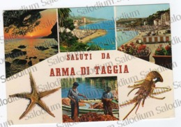 Saluti Da Arma Di Taggia - Pesca Pescatore Stella Marina Crostacei Aragosta Seastar - Imperia