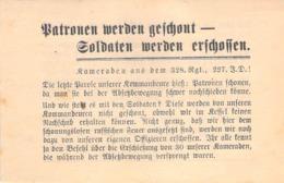 WWII WW2 Flugblatt Tract Leaflet Листовка Soviet Propaganda Against Germany - 1939-45
