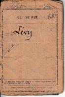 Classe 1911 - LIVRET MILITAIRE INDIVIDUEL - Fascicule Des Mobilisation - Documents Historiques