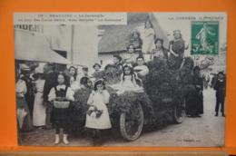 """Beaulieu - La Cavalcade - Le Jour Des Corps Saints; Auto Décorée """" La Semeuse"""" - Autres Communes"""