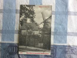 ST MARIABURG BIJ BRASSCHAAT  VILLA ET MOULIN DU CATERHEIDE    MOLEN !!  1904 - Brasschaat
