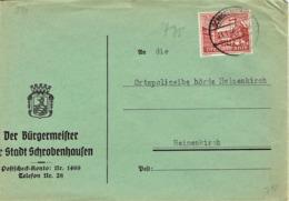 Deutsches Reich - Umschlag Echt Gelaufen / Cover Used (A969) - Deutschland