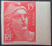 R1591/617 - 1949 - TYPE MARIANNE De GANDON - NON DENTELE - N°813 NEUF** BdF - Ongetand