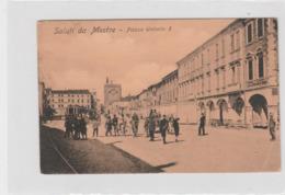 Cartolina - Saluti Da Mestre - Piazza Umberto I - Venezia (Venice)