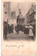 FR66 DOUAI - Les Géants - Gayant - Animée - Belle - Carnaval