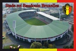 CARTE DE STADE . BRUXELLES   BELGIQUE  STADE DU ROI BEAUDOUIN  # CS. 323 - Fútbol