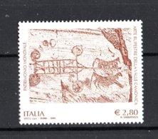 ITALIA :  Arte Rupestre Della Val Camonica 1 Val. 2,80 €.  MNH** -  27.03.2009 - 2001-10: Nieuw/plakker