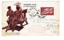 FDC VIET-NAM - VOYAGE - TP N°21 DU 21/12/1952 - Vietnam