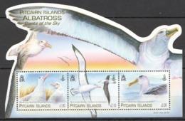 C807 PITCAIRN ISLANDS FAUNA BIRDS ALBATROSS GIANTS OF THE SKY !!! MICHEL 13 EURO !!! 1KB MNH - Albatrosse & Sturmvögel