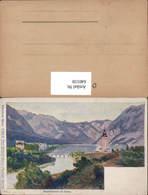 640159,Hans Christiansen Wocheinersee Krain Bohinj Pub Philipp & Kramer XXII/9 - Slowenien