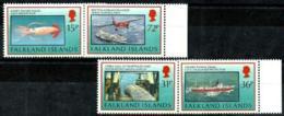 Islas Falkland Nº 598/601 En Nuevo - Islas Malvinas