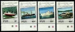 Fiji Nº 498/501 En Nuevo - Fiji (1970-...)