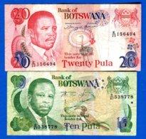 Botswana  2  Billets - Botswana