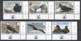 C810 2013 ASCENSION ISLAND FAUNA BIRDS FRIGATEBIRD 1SET #1219-24 !!! MICHEL 17 EURO !!! MNH - Albatrosse & Sturmvögel