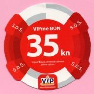 Prepaid Bon - VIPme S.O.S. 35 Kn, 2005., Croatia - Autres Collections