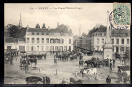 ARRAS 62 - La Place Victor Hugo - Foire Au Bétail - A687 - Arras