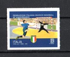 ITALIA :  50° Anniv. Federazione Italiana Giuoco Handball -  1 Val. Da 1,10 €.  MNH**  5.11.2019 - 1946-.. République
