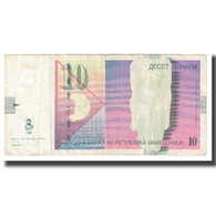 Billet, Macédoine, 10 Denari, 2008, KM:14g, TB - Macedonië
