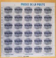 "FRANCE 2019 ""MUSEE DE LA POSTE"" - ILLUSTREE - Feuille 30 Timbres - Volledige Vellen"