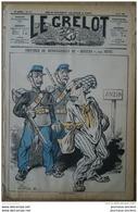 1878 Journal Satirique LE GRELOT - LA GRÈVE D'ANZIN - COUPABLE DE DÉTOURNEMENT DE MINEURS Par PEPIN - Books, Magazines, Comics