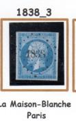 France : Petit Chiffre N° 1838 : La Maison Blanche (  Paris ) Indice 3 - 1849-1876: Periodo Classico