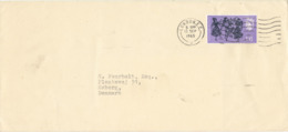 Great Britain Cover Sent To Denmark London 13-9-1965 Single Franked - 1952-.... (Elizabeth II)