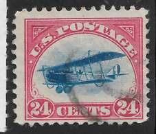 Yvert 3 Michel 250 - 24 C Rouge / Bleu - O - 1a. 1918-1940 Gebraucht