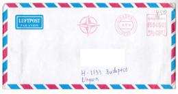 K189 Danmark Red Meter Freistempel EMA 1999 Danish Battalion (DANBN) In KFOR - Vignette Di Affrancatura (ATM/Frama)
