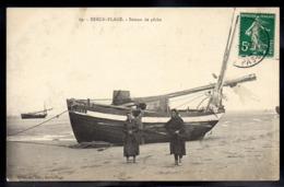 BERCK PLAGE 62 - Bateau De Pêche - A694 - Berck