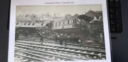 Catastrophe En Gare De Namur Le 10.12.1979 -  Plastifé A4 - Namur