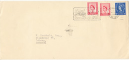 Great Britain Cover Sent To Denmark Douglas Isle Of Man 16-6-1964 - 1952-.... (Elizabeth II)